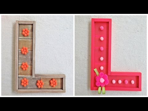 Pre-Made Barn Wood Letters for DIY Crafts