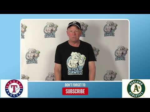 Oakland Athletics vs Texas Rangers Free Pick 8/5/20 MLB Pick and Prediction
