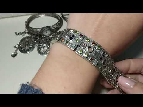 Мои серебряные украшения браслеты ♥️2. Продолжение