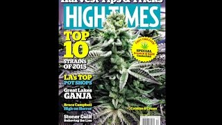 High Times Issue Preview: December 2015