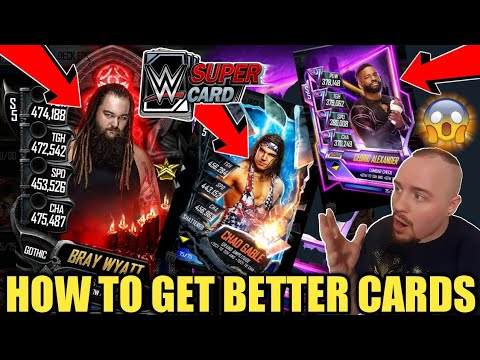 HOW TO GET BETTER CARDS IN WWE SuperCard? NEON PLATINUM PACK + MORE! Noology WWE SuperCard Season5