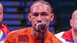 Keith Thurman POST FIGHT HIGHLIGHTS vs. Manny Pacquiao