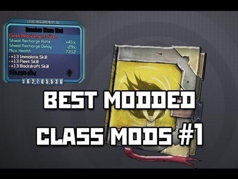 Borderlands 2 - Best Modded Class Mods #1