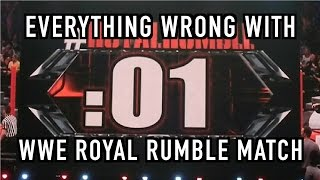 Episode #214: Everything Wrong With WWE Matches: ROYAL RUMBLE MATCH