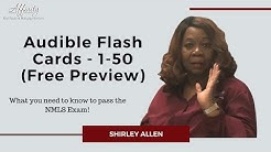 Audible Flash Cards - 1-50 updated 8-28-2018 Free Preview