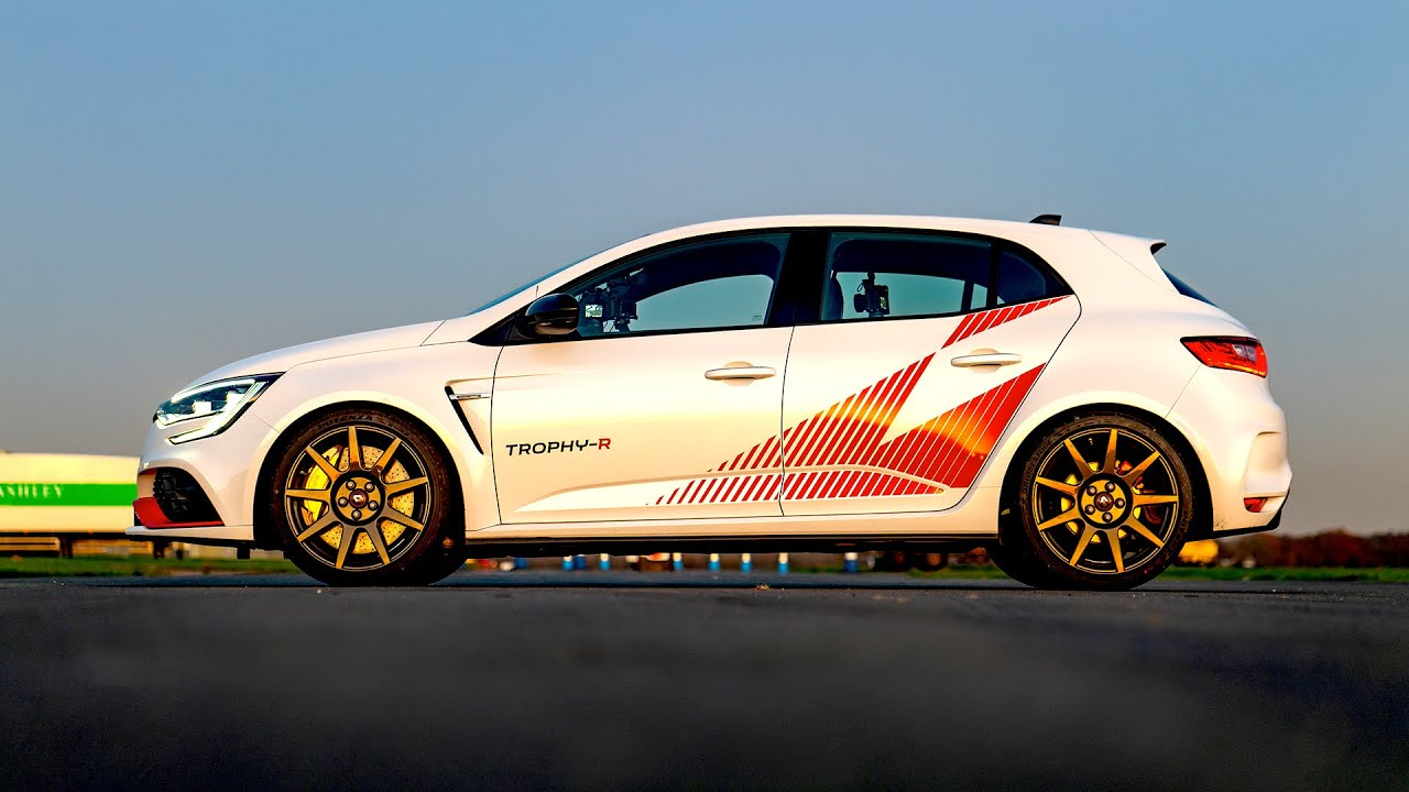 PREVIEW: Chris Harris on the £72k Renault Megane RS Trophy-R | Top Gear