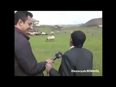 Koyunları Çağıran Adam Bingöllü Çoban Zil Sesi