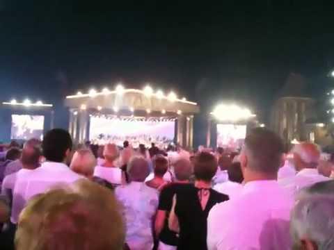 Maastrichts lied andre rieu aan vrijthof 2010