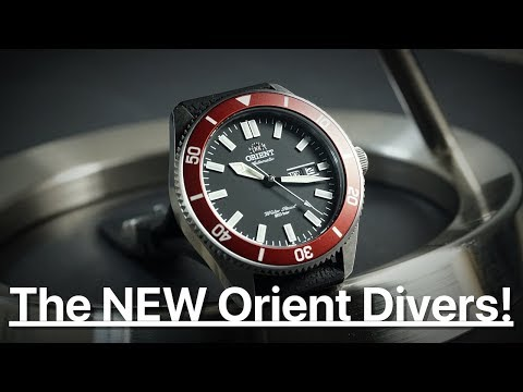 The NEW Orient Divers!