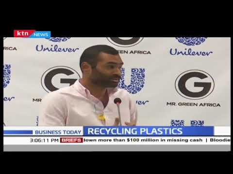 KTN News on waste management project