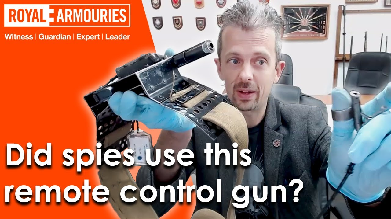 The remote control Colt. The SOE belt pistol with firearms and weapon expert Jonathan Ferguson