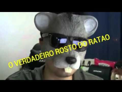 O rosto do Rato Borrachudo.
