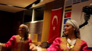 Tatar Cinema International ТАНЕЦ СЕВЕРНОГО КИПРА 16 й курултай МОТМ СТАМБУЛ отель ГОНЕН
