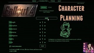 Fallout 4 - Planning My Character Build