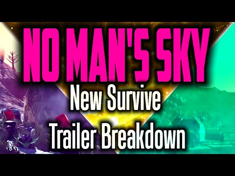 NO MAN'S SKY ✦ NEW Survive Trailer Breakdown / Analysis / Frame by Frame / New Gameplay