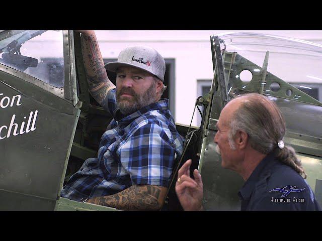 Green Beret Visits FoF