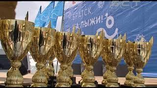 Олимпийская чемпионка Ольга Данилова впервые прилетела в Братск на лыжный праздник РУСАЛа
