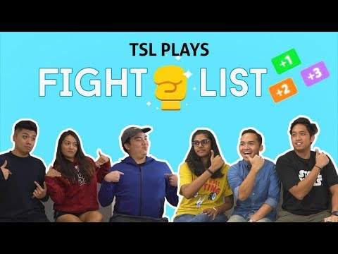 TSL Plays: Fight List in REAL LIFE
