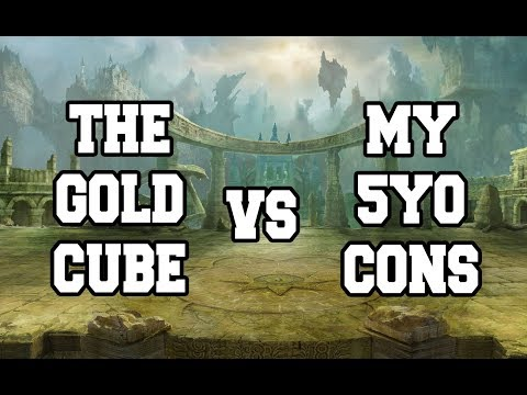 The Gold Cube vs My 5yo Concentrates
