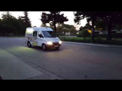 Mountain View Ice Cream Truck Route Speed Record