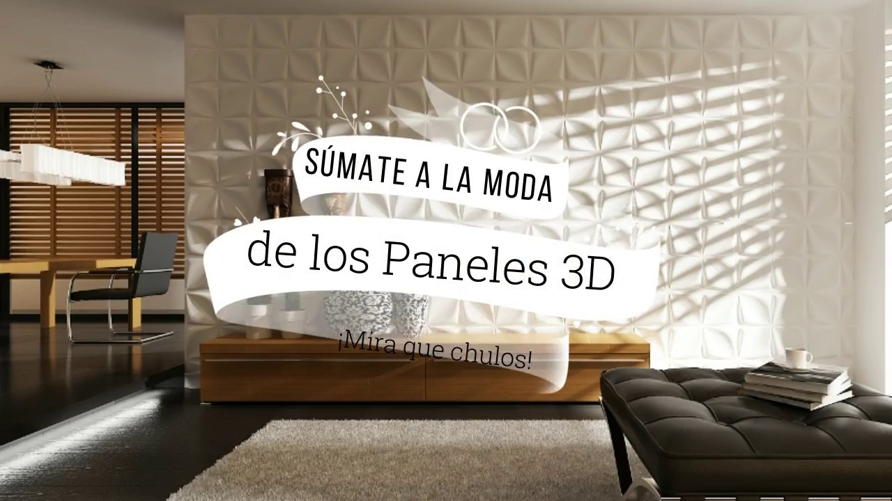 cmo instalar paneles decorativos 3d de bamb - Paneles Decorativos 3d