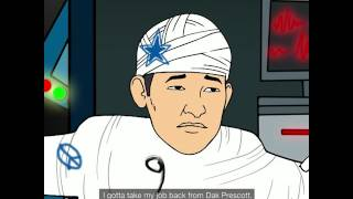 Gridiron Heights, Episode 5: Jerry Jones Rebuilds Tony Romo into a Lethal Robot