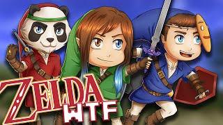 Minecraft - Zelda WTF #1 LE GROS BORDEL (A cause de Siana)