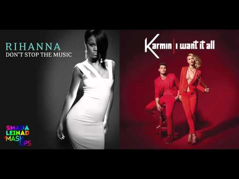 Rihanna vs. Karmin - Don't Stop It All
