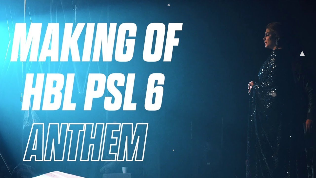 Groove Mera | BTS | Making Of HBL PSL 6 Anthem