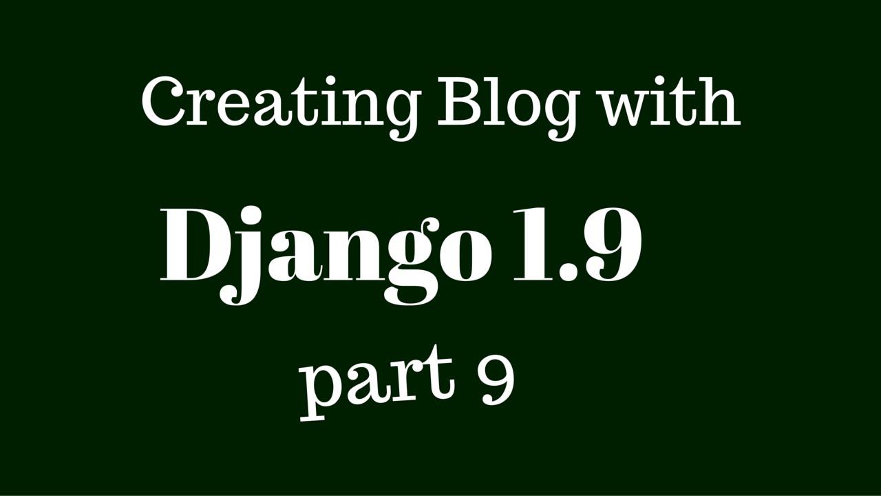 Django, Templates inheriting and Following the DRY principle - YouTube