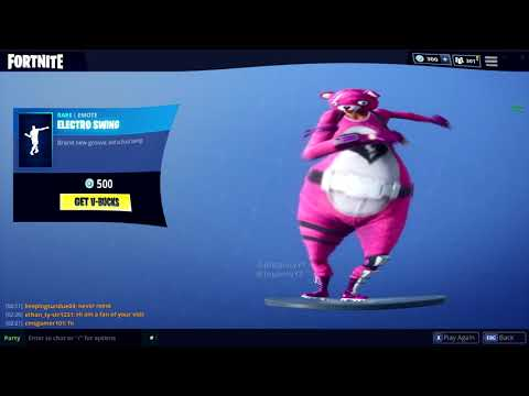 FORTNITE ELECTRO SWING BASSBOOSTED
