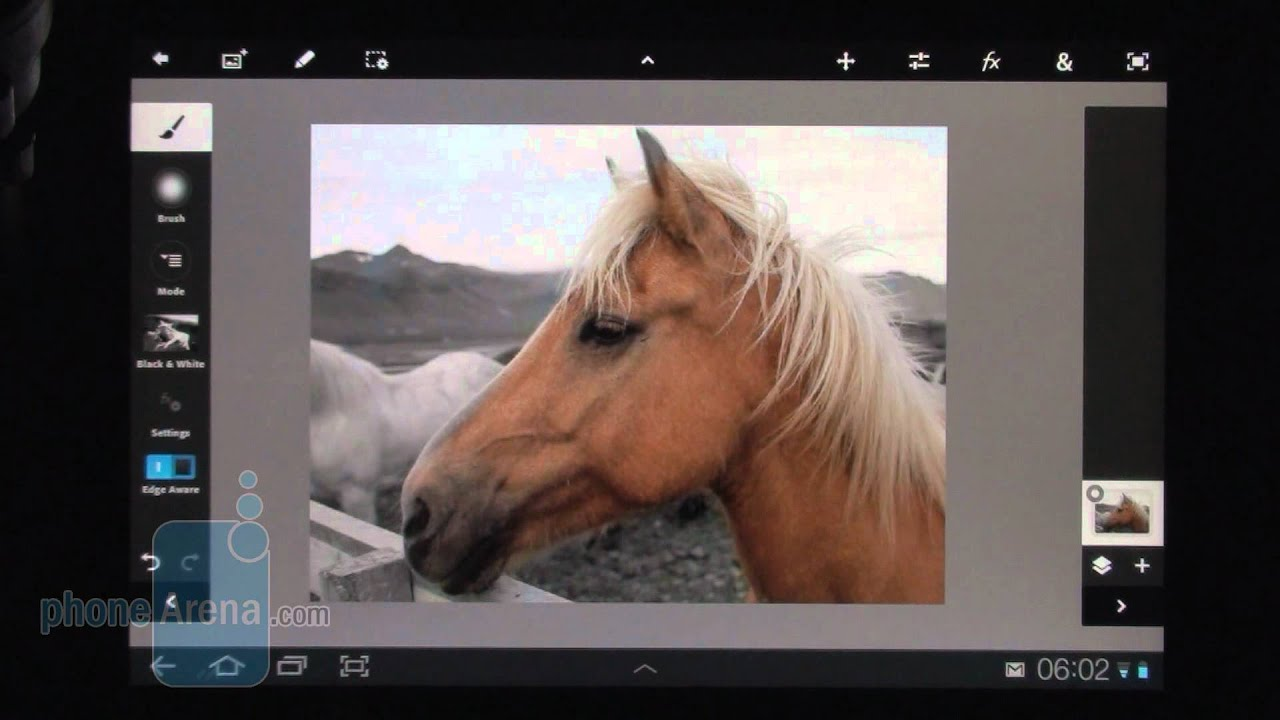 Adobe Photoshop Touch for Android Review