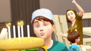 FINALLY SOME HELP // The Sims 4: 100 Baby Challenge #160