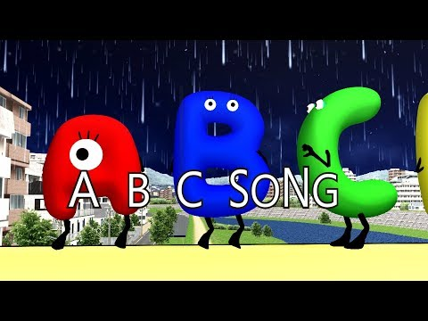Alphabets ABC Song | Kids Songs | Car Songs | Frozen Alphabet Cartoons | Nursery Rhyme for Baby
