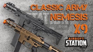 Classic Army Nemesis X9 Review - The Best New PCC? - Airsoft Station Overview