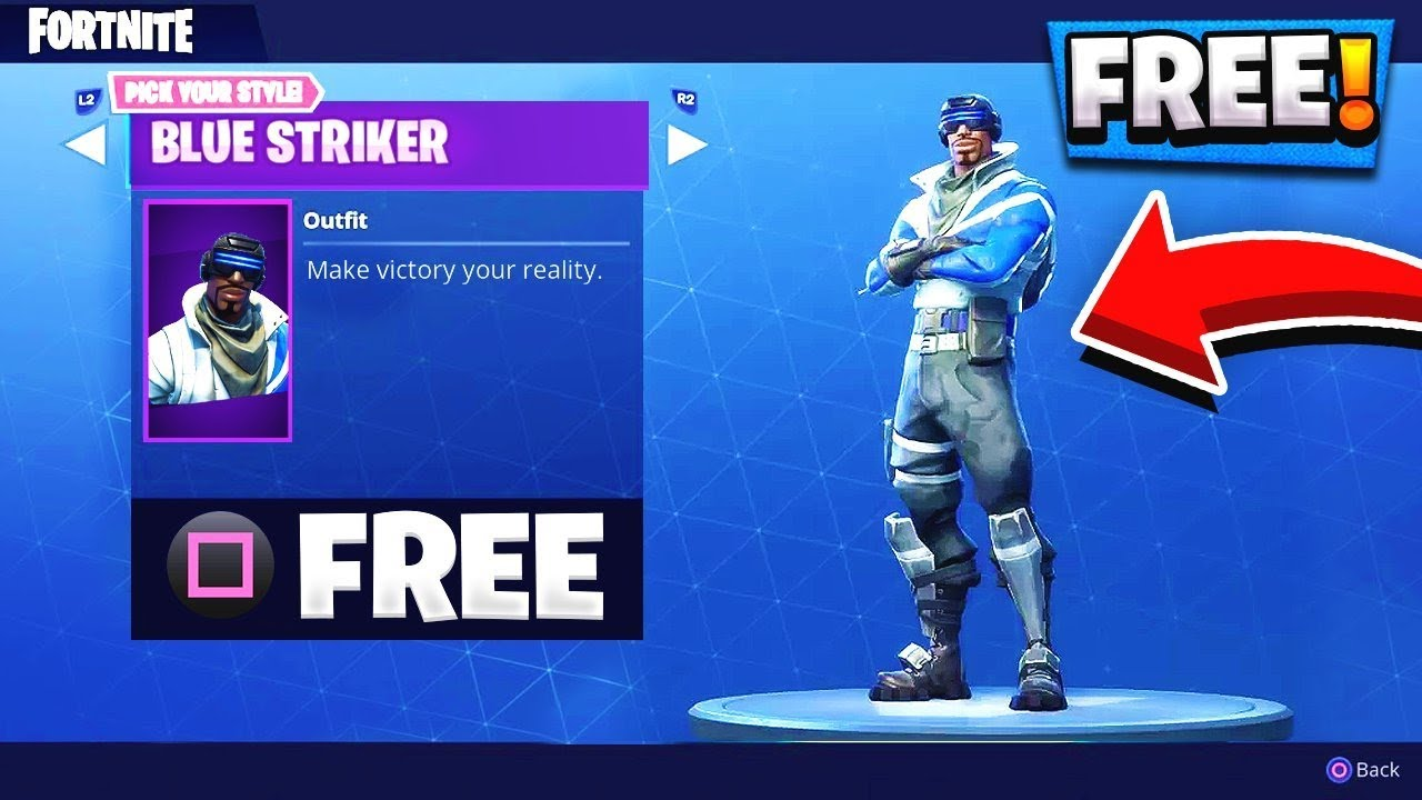 HOW TO GET FREE FORTNITE SKINS! GET THIS SKIN FREE TODAY ...