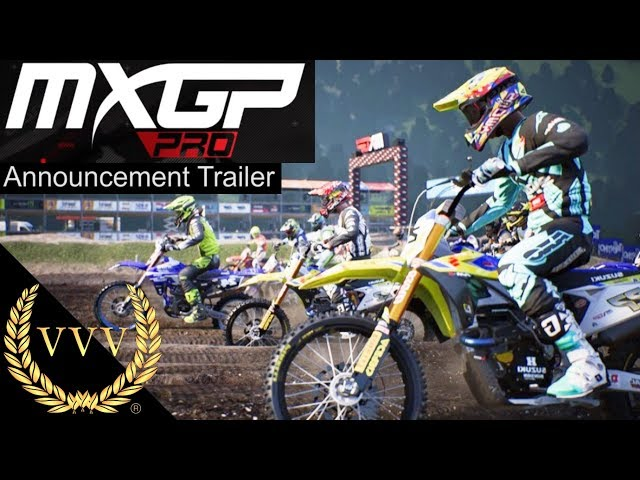 MXGP Pro Announcement Trailer