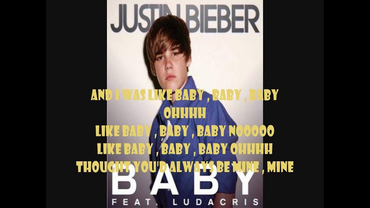 Justin Bieber ft.Ludacris - Baby (Lyrics) HD - YouTube