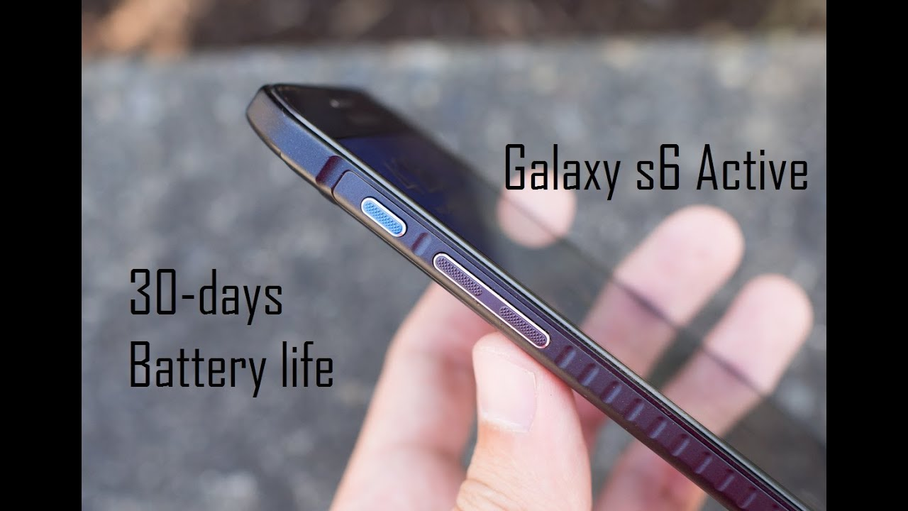 Samsung Galaxy S6 Active Review: The Variant You Should Buy - YouTube