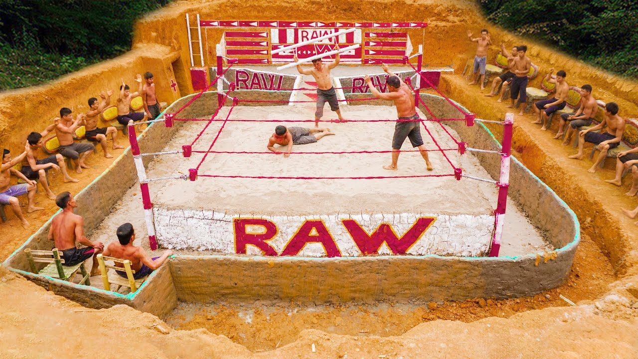 Build Arena With Aboriginal Heavyweight WWE Championship Match : Raw