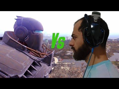 Fallout 4 Live Ita Liberty Prime vs MarcoKitano