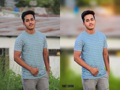 Photoshop CC Tutorial  ||  How to Edit DSLR Photos  || Blur Background ||