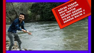 Life in the Village, Fishing, Nature, Snake, Spending a day in the village