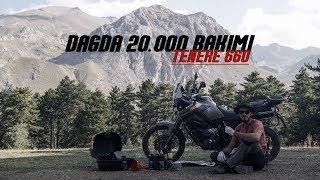 Dağda 20.000 Bakımı // Yamaha XT660z Tenere - Yağ, Yağ Filtresi, Hava Filtresi ve Buji Değişimi