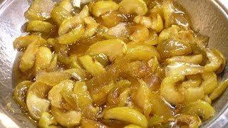 Яблочное варенье дольками / How to make Sliced apple jam ♡ English subtitles