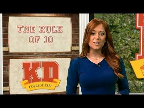 College Admissions Tips: The Rule Of 10