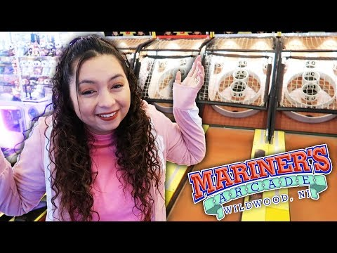 Let's see what's NEW at Mariner's Arcade! - Wildwood, New Jersey!
