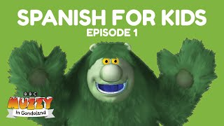 Spanish For Kids.  Muzzy In Gondoland - Episode 1. Spanish Lessons For Children By The Bbc's Muzzy