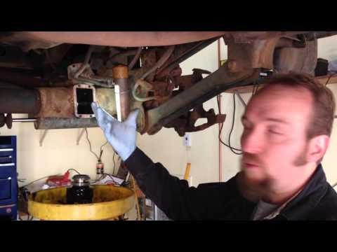 How to replace right front axle seal 1994 – 2002 Dodge Ram 1500 4×4 trucks