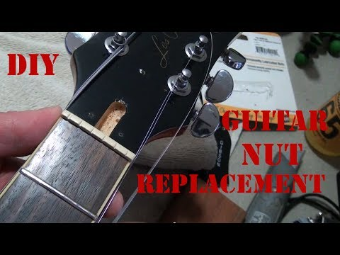 diy-how-to-replace-a-guitar-nut---how-to-install-a-graphtech-tusq-xl-nut-on-an-epiphone-les-paul
